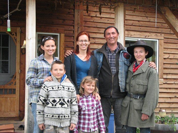Sanna SevenDeers und ihre Famile